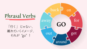 go句動詞Phrasal verbs