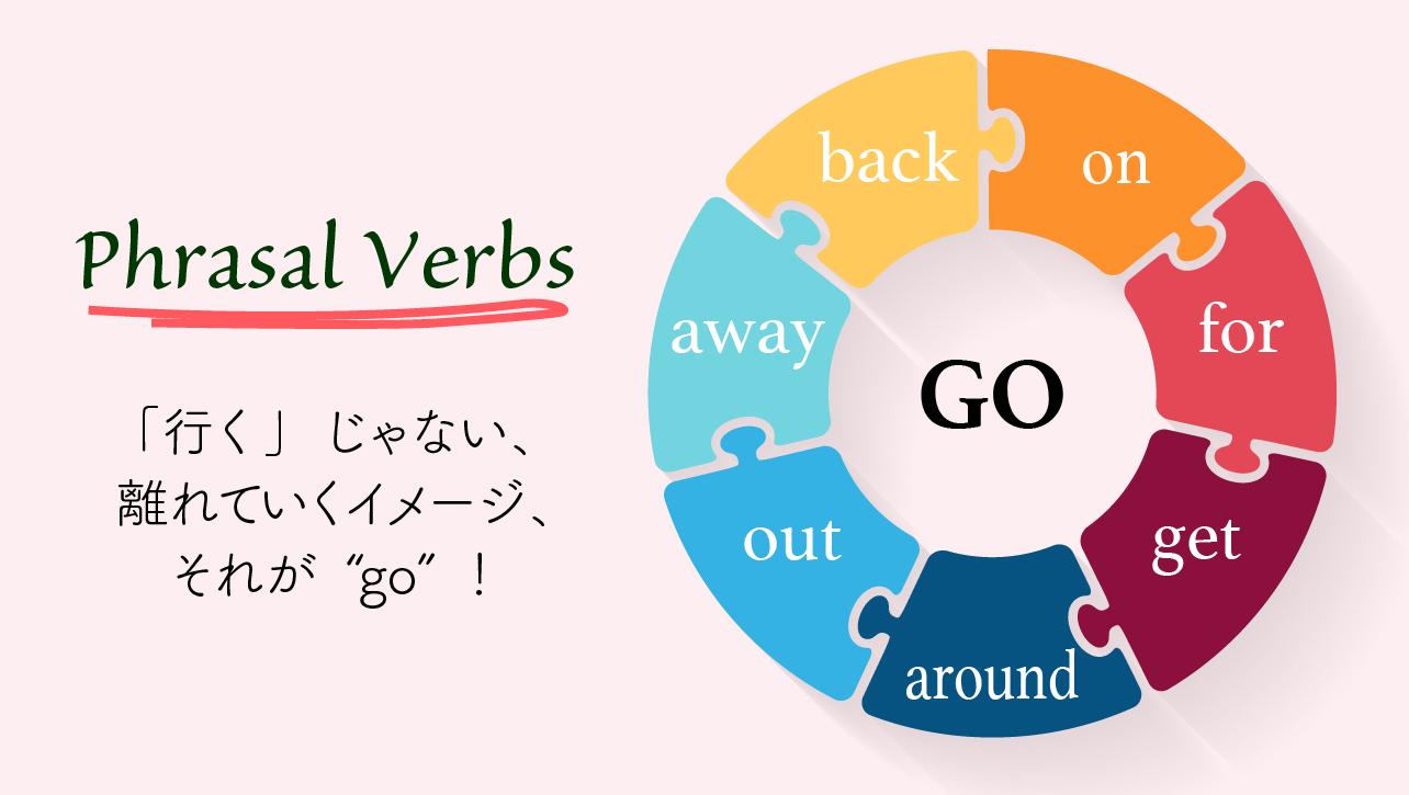 go 句動詞 phrasal verbs